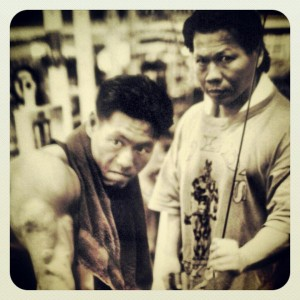 Bolo and David Yeung Training