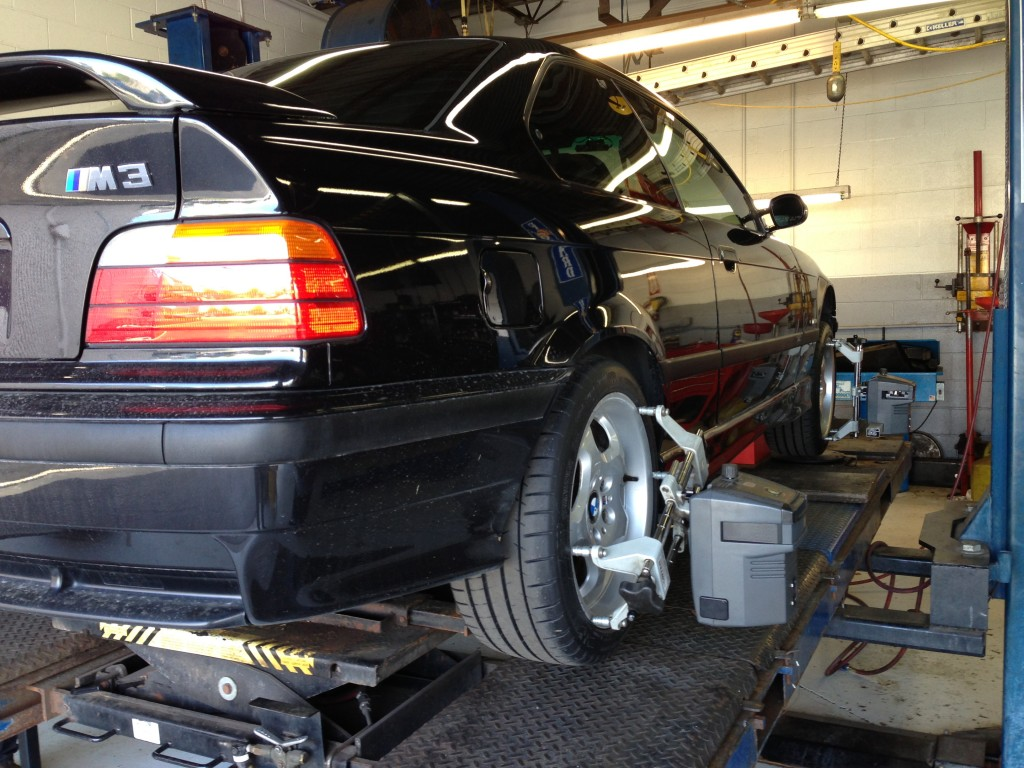 Michelin PSS on E36 M3 - Alignment
