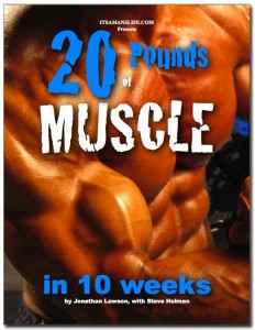 20 Pounds of Muscle in 10 Weeks cover