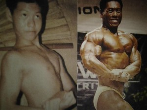 David Yeung before and after bodybuilding