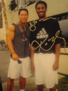 David Yeung and Kobe Bryant
