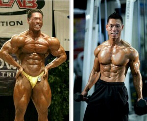 David Yeung then and now