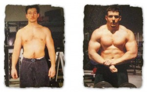20 Pounds of Muscle before and after